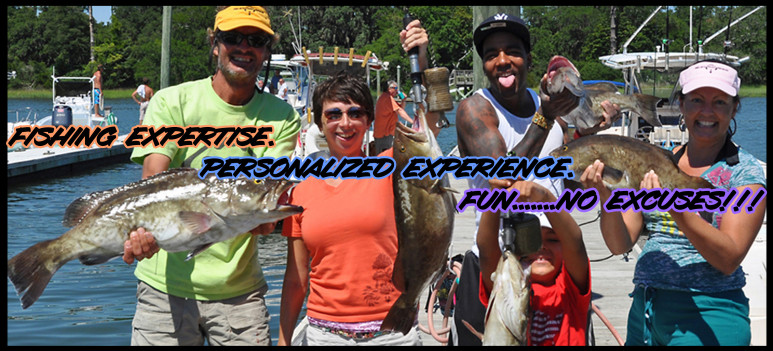 NX - Topsail's Top Fishing Charters - #1 All-Inclusive. charter fishing